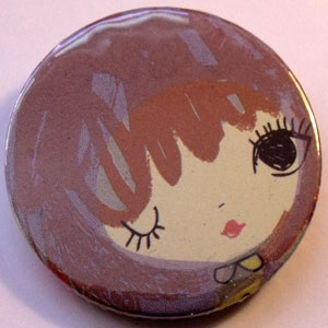 Retro Girls Badge 02