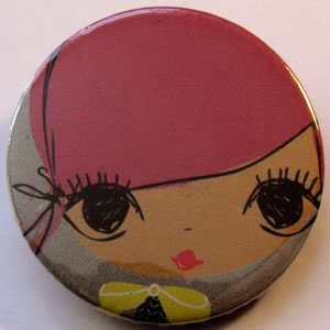 Retro Girls Badge 09