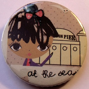 Retro Girls Badge 14