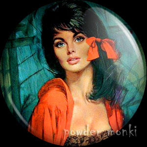 "Shabner ""Melanie"" - Pin-Up Girl Badge/Magnet"