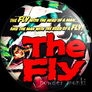 The Fly - Retro Cult B-Movie Badge/Magnet
