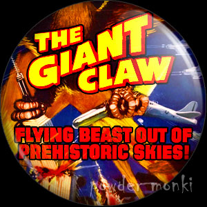 The Giant Claw - Retro Cult B-Movie Badge/Magnet