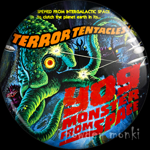 Yog Monster From Space - Retro Cult B-Movie Badge/Magnet