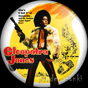 Cleopatra Jones - Retro Cult Movie Badge/Magnet