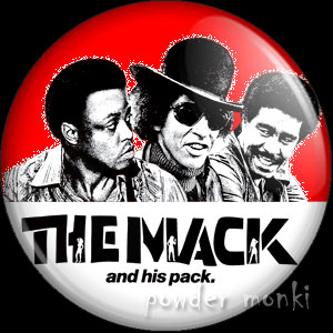 The Mack - Retro Cult Movie Badge/Magnet 1