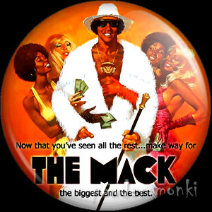 The Mack - Retro Cult Movie Badge/Magnet 2