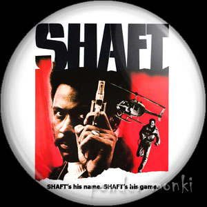 Shaft - Retro Cult Movie Badge/Magnet
