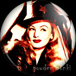 Veronica Lake - Kitsch Witch Badge/Magnet