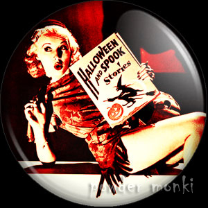 Betty Grabble - Kitsch Witch Badge/Magnet