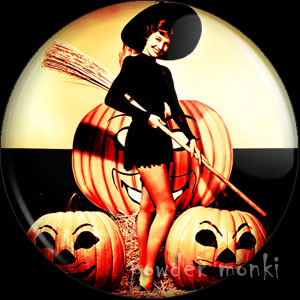 Cyd Charisse - Kitsch Witch Badge/Magnet