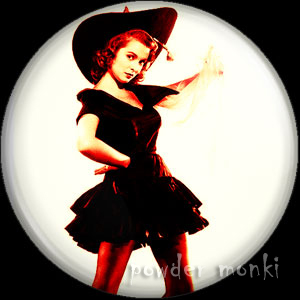 Janet Leigh - Kitsch Witch Badge/Magnet