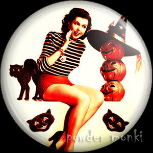 Ann Miller - Kitsch Witch Badge/Magnet 2