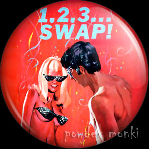 1,2,3 Swap - Pulp Fiction Badge/Magnet