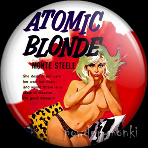 Atomic Blond - Pulp Fiction Badge/Magnet