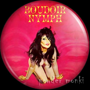 Boudoir Nymph - Pulp Fiction Badge/Magnet