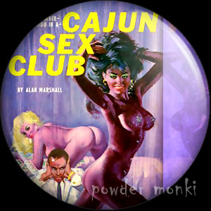 Cajun Sex Club - Pulp Fiction Badge/Magnet
