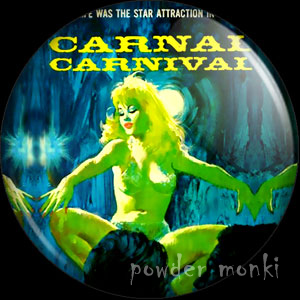 Carnal Carnival - Pulp Fiction Badge/Magnet
