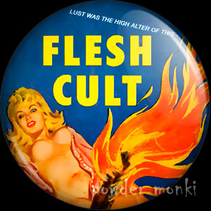 Flesh Cult - Pulp Fiction Badge/Magnet