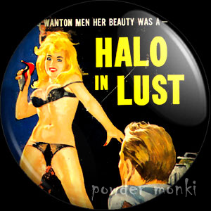 Halo In Lust - Pulp Fiction Badge/Magnet