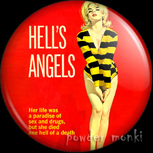 Hell's Angels - Pulp Fiction Badge/Magnet
