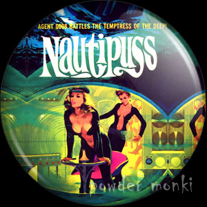 Nautipuss - Pulp Fiction Badge/Magnet