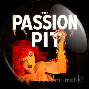 The Passion Pit - Pulp Fiction Badge/Magnet