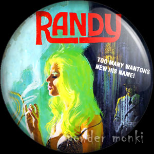 Randy - Pulp Fiction Badge/Magnet