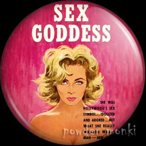 Sex Goddess - Pulp Fiction Badge/Magnet