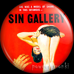 Sin Gallery - Pulp Fiction Badge/Magnet