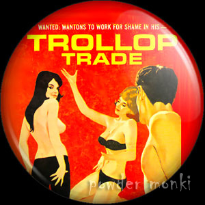Trollop Trade - Pulp Fiction Badge/Magnet
