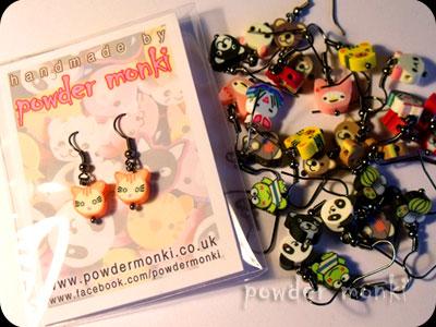 Powder Monki :: Jewellery :: Cute Animal Earrings