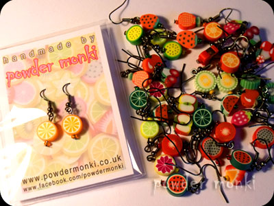 Powder Monki :: Jewellery :: Cute Fruit Earrings