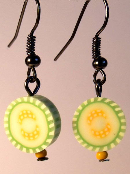 Squash/Marrow Cute Fruit Earrings