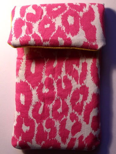 Pink White Leopard Print Phone Case