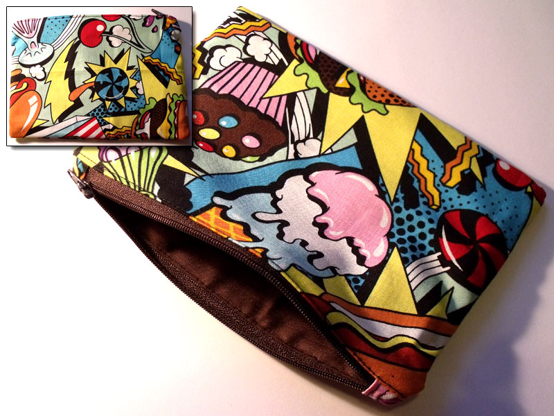Fast Food Pop Art Make-up Bag
