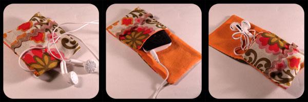 Powder Monki :: Bags & Purses :: Mini mp3 Pouches