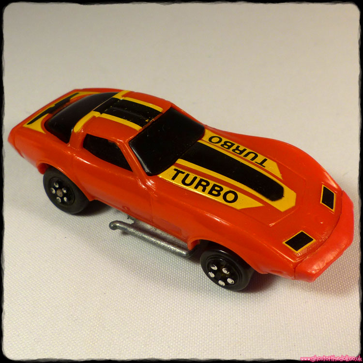 Burnin' Key Car: Vette Turbo [Kidco 1980]