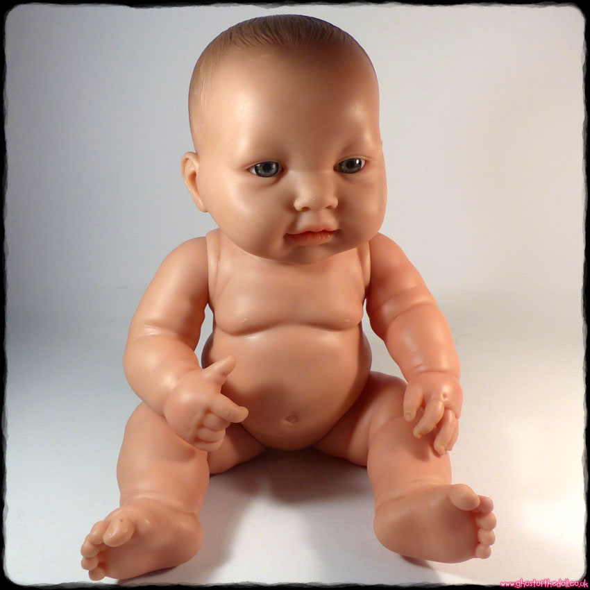 "Berenguer ""Lots To Love Babies"" Bath Doll Baby - Blue Eyes"