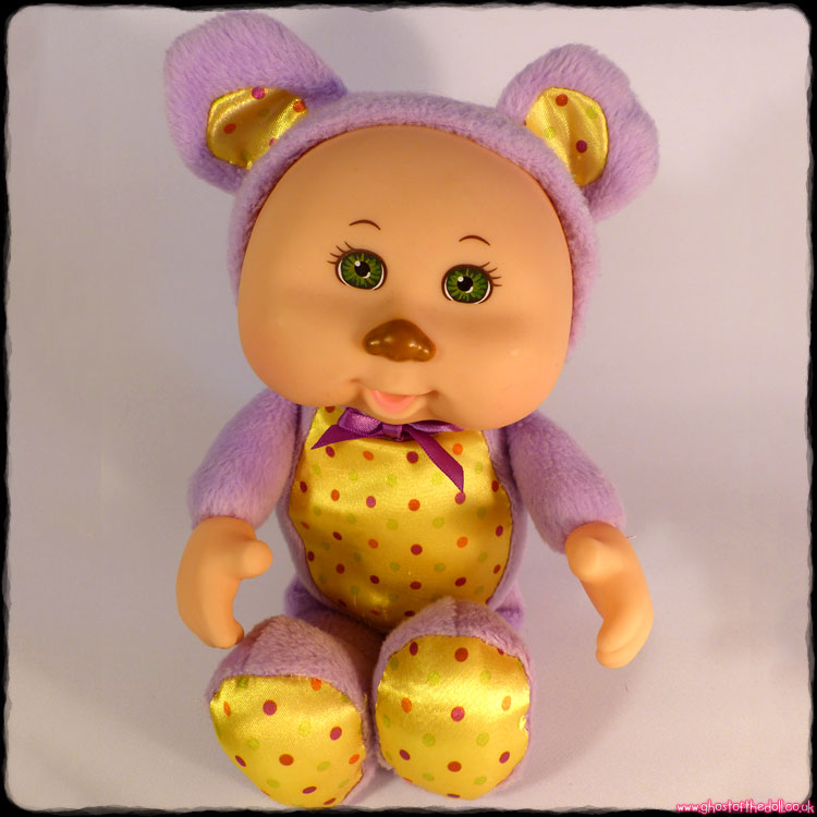 "Cabbage Patch Kids ""Party Cuties"" Purple Bear (JAKKS 2013)"