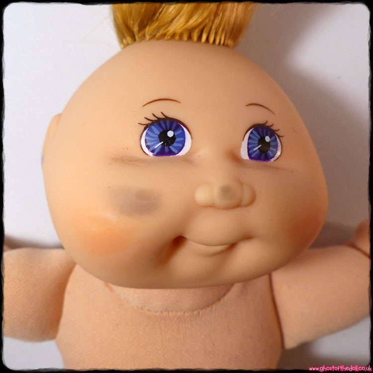 Cabbage Patch Kids: 1st Edition Baby Blue Eyes (Mattel 1995) - Click Image to Close