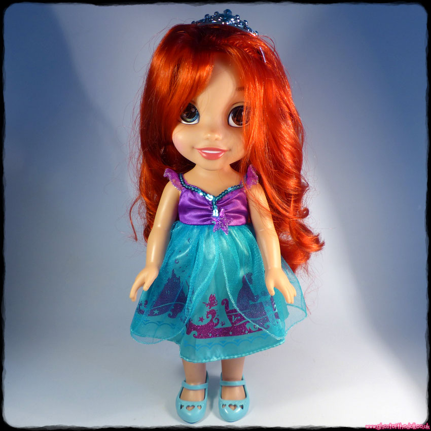 Disney ARIEL My First Toddler Doll Dress Crown Shoes (Jakks Pacific)