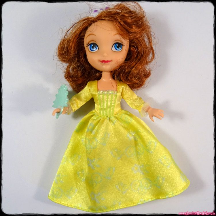 Disney: Sofia the First - Doll in Amber's Dress - Toys R Us (Mattel 2012)