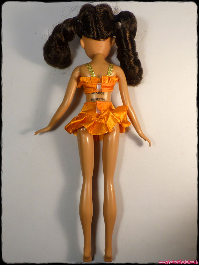Disney Teen Beach Movie Mckenzie Child Wig Brunette Long Hair Kids Costume