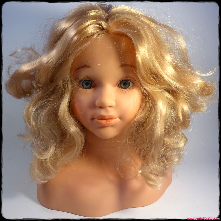 "PRINCESS CORALIE 12"" Styling Head #5234 Blond Doll (Theo Klein)"