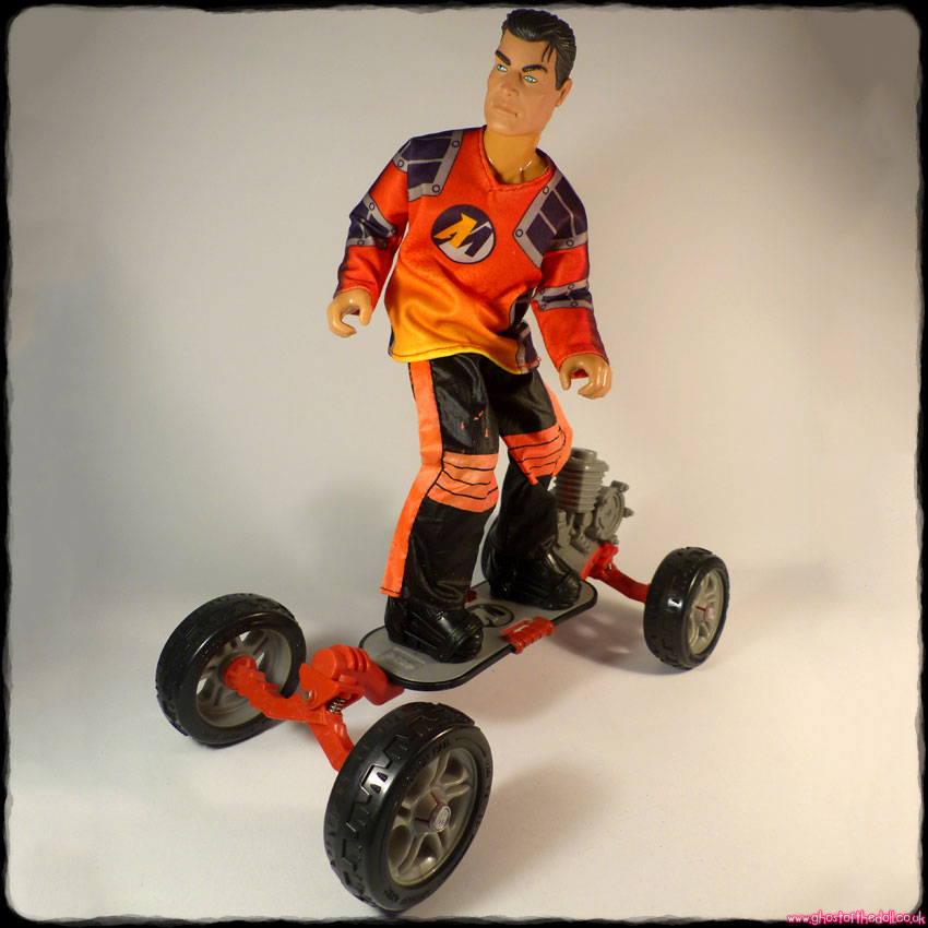Action Man: Skateboard Extreme Set (Hasbro 1999)