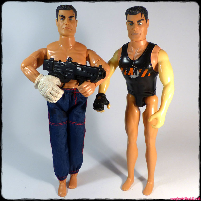 Action Man: 2 Action Figure Dolls (Hasbro 1996/1999)