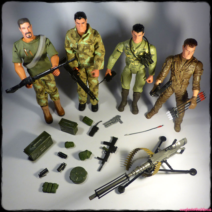 "TRACKER The Corps 12"" Action Figures + Accessories (Lanard 2013)"
