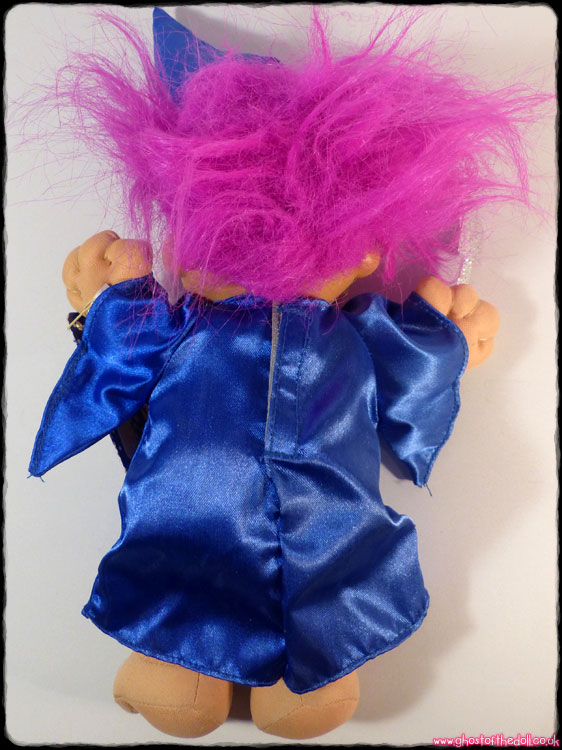 Trolls: Wee Troll Kidz ~ Wizard with Wand, Hat, Tag (Russ 1994) - Click Image to Close