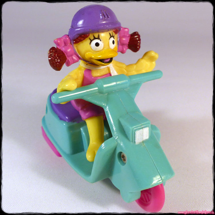"McDonald's Friction Toys ""Birdie On A Scooter"" (1992)"