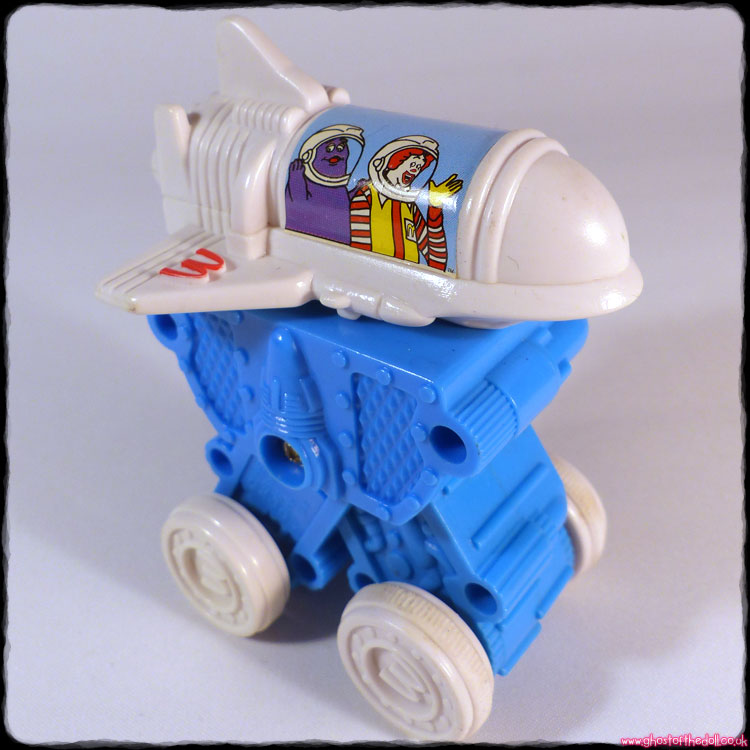 "McDonald's Intergalactic Adventures ""Space Rocket"" (1995)"